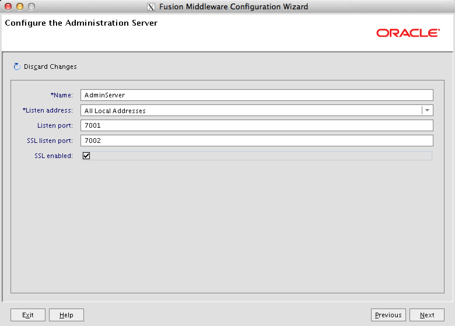 Configuration Oracle SOA suite 11gR1 release 11.1.0.6