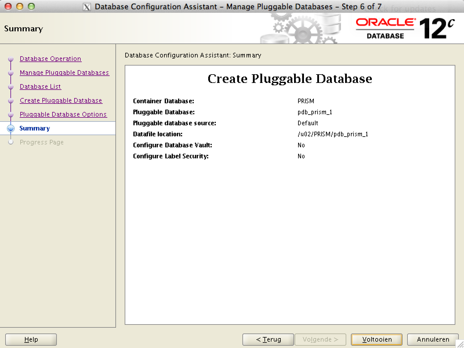 how to create user in oracle 12c