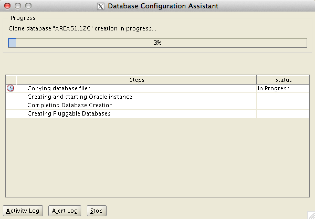 how to create database in oracle 11g manually