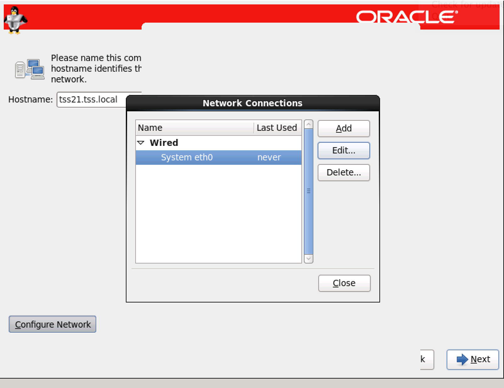 installation Oracle Enterprise Linux 6 release 4