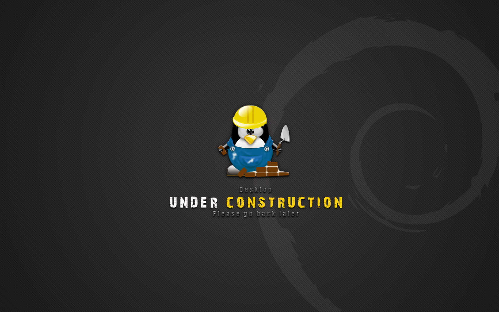 linux under construction